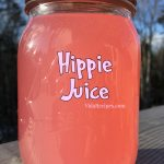 Hippie Juice with triple sec and rum