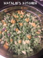 Easy Peasy Pea Salad Recipe