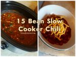 15 Bean Slow Cooker Chili
